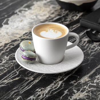 Manufacture Rock blanc Set de desayuno