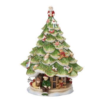 Christmas Toys Memory abeto grande con niños
