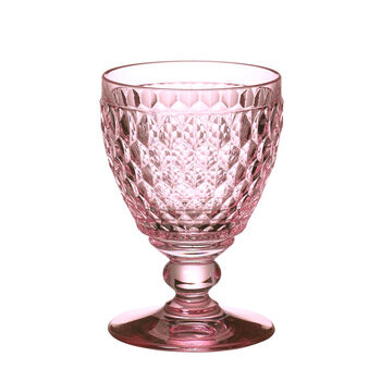 Boston Coloured Vaso de vino tinto Rose