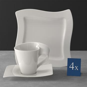 NewWave servicio de café 12 piezas