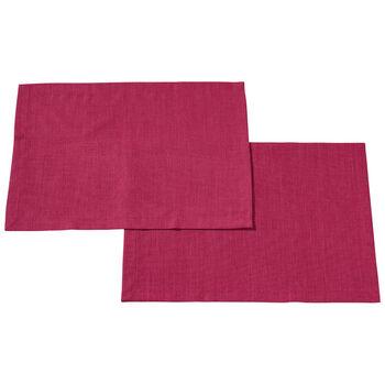Textil Uni TREND Salvamanteles Red Plum S2 35x50cm