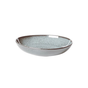 Lave Glacé bol plano pequeño, turquesa, 22 x 21 x 4,2 cm