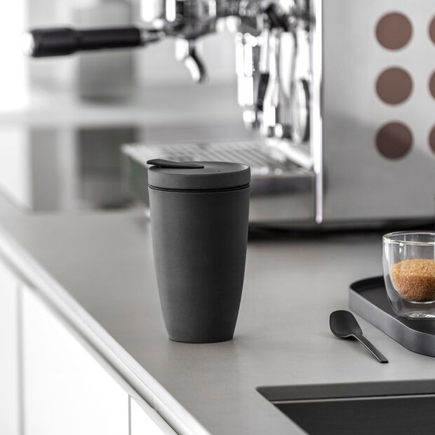 Manufacture Rock Coffee To Go vaso, 350ml, negro mate, , large