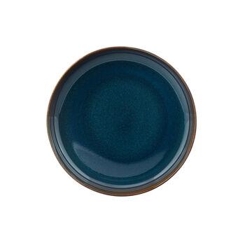 Crafted Denim plato hondo, azul, 21,5 cm