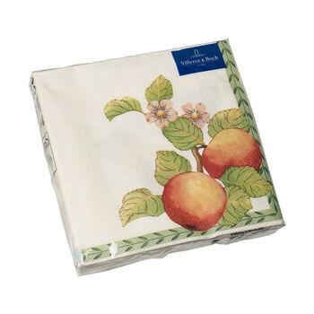 Servilletas de papel French Garden Modern Fruits, 20 unidades, 33x33cm