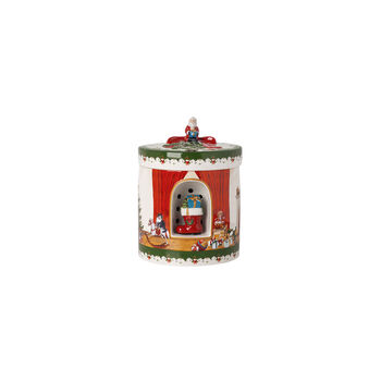 Christmas Toys Caja regalo gr. redonda, 2021 17x17x22 cm