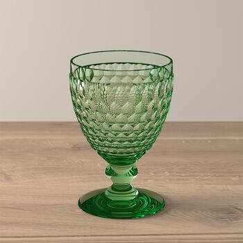 Boston Coloured Vaso de vino tinto Green