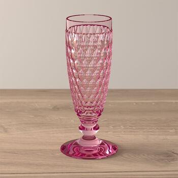 Boston Coloured Copa de champagne Rose
