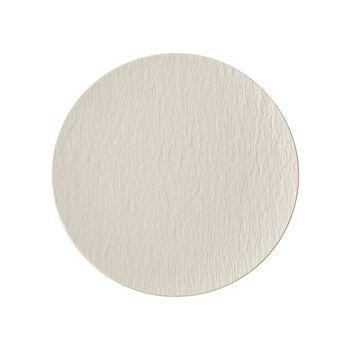 Manufacture Rock blanc Plato universal coupe 25x25x2,8cm