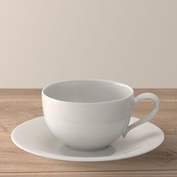 New Cottage Basic taza desayuno con plato