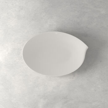 Flow fuente ovalada 36 cm