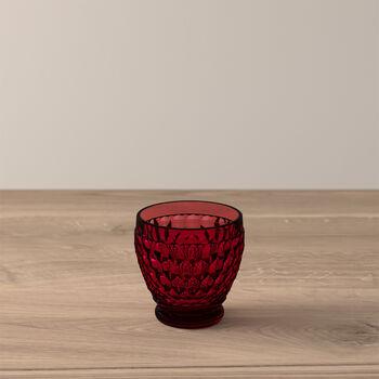 Boston Coloured Vaso de chupito Red