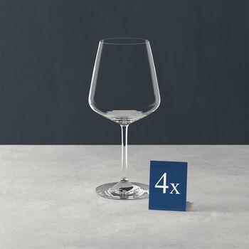 Ovid set de 4 copas de vino tinto