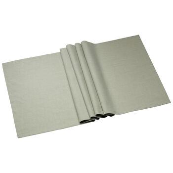 Textil Uni TREND Camino de mesa fog green 78 50x140cm