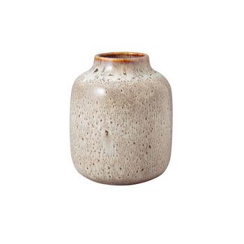 Lave Home jarrón Shoulder, 12,5x12,5x15,5cm, beige