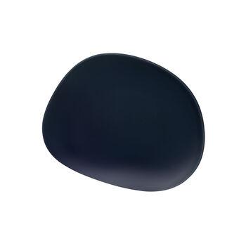Organic Dark Blue plato de desayuno, azul oscuro, 21 cm