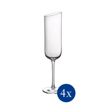 NewMoon set de vasos de cava, 170 ml, 4 unidades