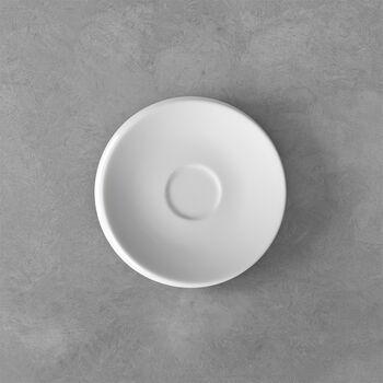 NewMoon platillo para taza de expreso, blanco