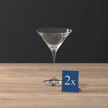 Purismo Bar copa de cóctel/martini set de 2