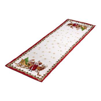 Toy's Fantasy camino de mesa XL de tapiz, varios colores, 49 x 143cm
