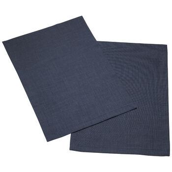 Textil Uni TREND Salvamanteles azul Set 2 35x50cm