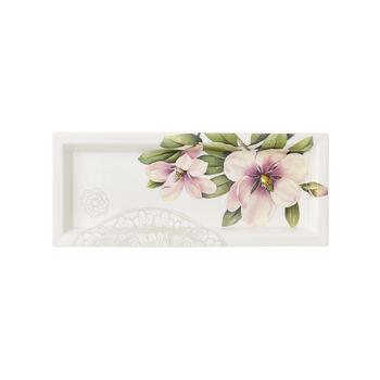 Quinsai Garden Gifts Cazoleta rectangular 25x10cm