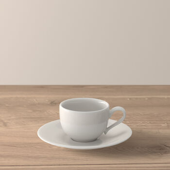 New Cottage Basic taza moka con plato