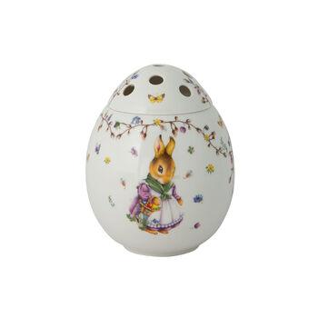 Spring Fantasy Jarrón con forma de huevo, Emma y Paul 17,5x17,5x21cm