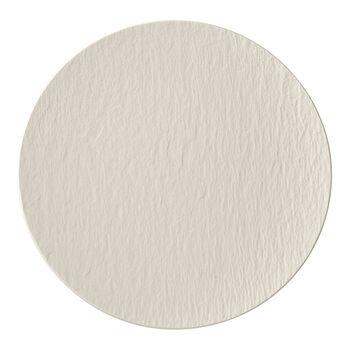 Manufacture Rock blanc Plato gourmet 31,5x31,5x2,5cm