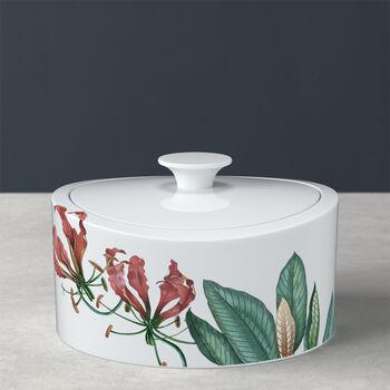 Caja de porcelana Avarua Gifts, 800ml, blanco/multicolor