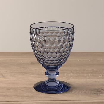 Boston Coloured Vaso de vino tinto Blue