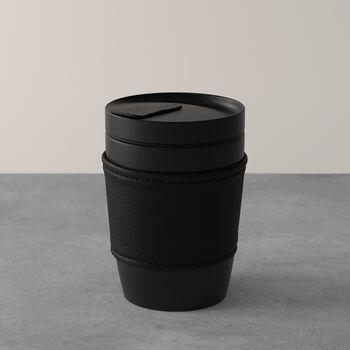 Manufacture Rock Coffee To Go vaso, 290ml, negro mate