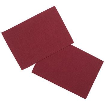 Textil Uni TREND Salvamanteles bordeos J2 35x50cm