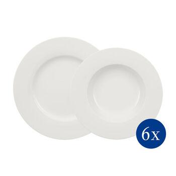 Wonderful World White set para mesa de 12 piezas