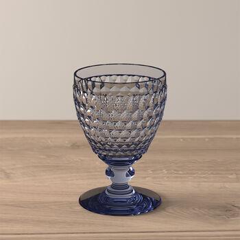 Boston Coloured Vaso de vino blanco Blue