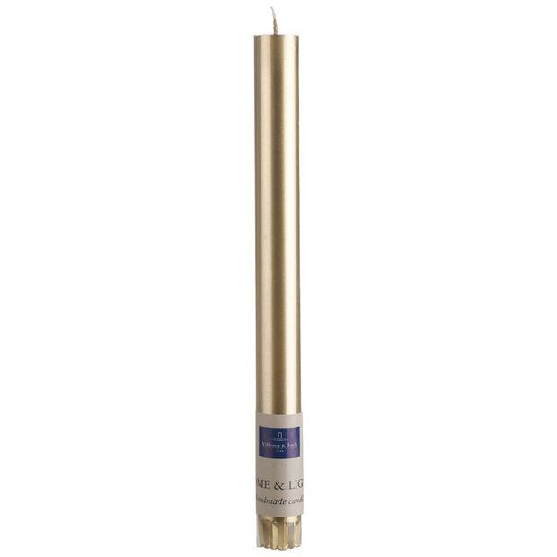 Essentials Candela Vela dorado 25cm, , large
