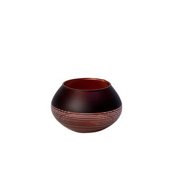 Manufacture Swirl portavelas de té pequeño