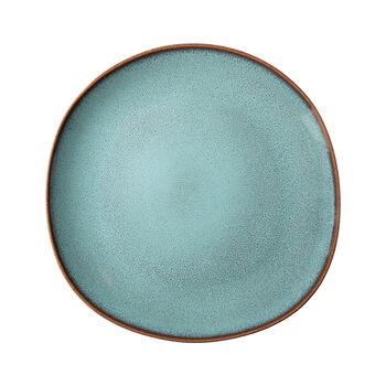Lave Glacé plato llano, turquesa, 28 x 28 x 2,7 cm