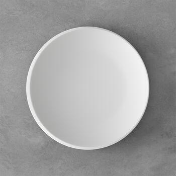 NewMoon plato de desayuno, 24 cm, blanco