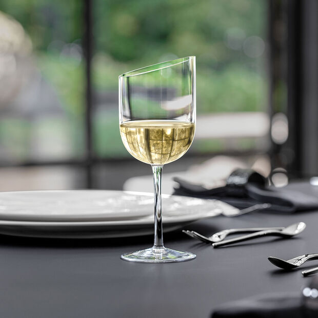 NewMoon set de vasos de vino blanco, 300 ml, 4 unidades, , large