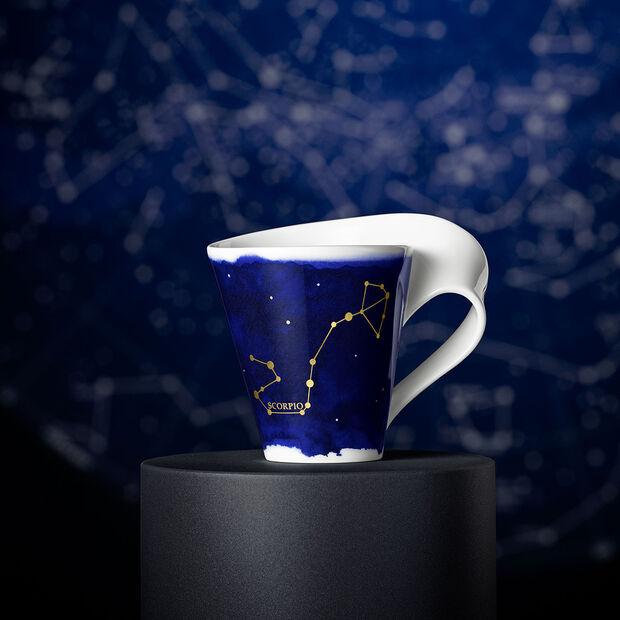 NewWave Stars taza con motivo de Escorpio, 300 ml, azul/blanco, , large