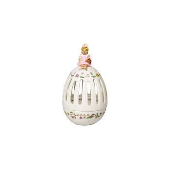 Bunny Tales huevo con portavelas té Anna, 16 cm, varios colores