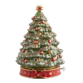 Toy's Delight árbol de Navidad con caja de música