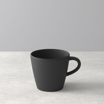 Manufacture Rock taza de café, negro/gris, 10,5 x 8 x 7,5 cm