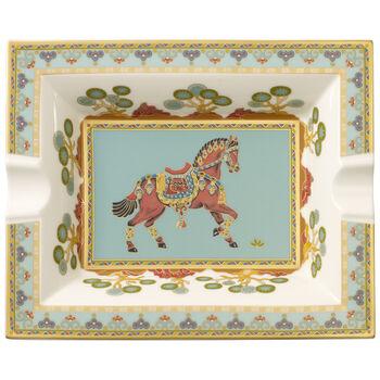 Samarkand Aquamarin cenicero de 17 x 21 cm
