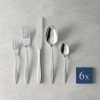 Set de platos, Flores, 30 piezas, para 6 personas