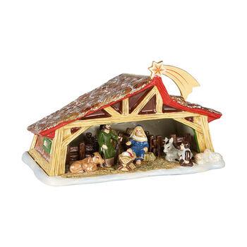 Christmas Toy's Memory belén, varios colores, 27 x 16 x 16 cm