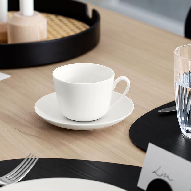 Twist White Plato taza café/té, , large