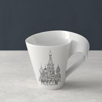 Modern Cities taza grande de café, Moscow, 300ml