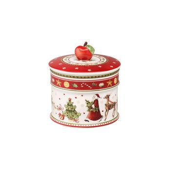 Winter Bakery Delight Caja de galletas, pequeña 12x11cm